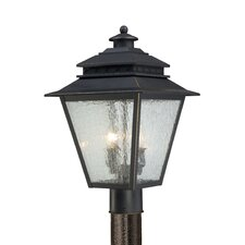 Carson 2 Light Outdoor Post Lantern