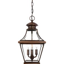 <strong>Quoizel</strong> Carleton 3 Light Outdoor Wall Lantern