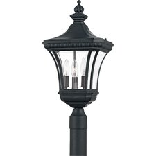 Devon 3 Light Outdoor Wall Lantern