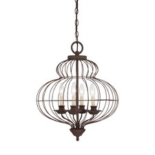 Lola 4 Light Chandelier