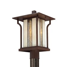 Langston 1 Light Outdoor Post Lantern