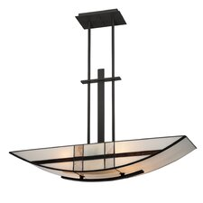 Luxe 4 Light Kitchen Island Inverted Pendant