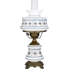 """Abigail Adams I 20"""" H Table Lamp with Bell Shade"""