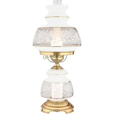 "Satin Lace 24"" H Table Lamp"