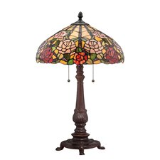 "Bowman 25.5"" H Table Lamp with Bowl Shade"