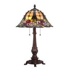 "Mills 25.5"" H Table Lamp with Bell Shade"