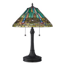 "King 24"" H Table Lamp with Empire Shade"