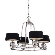<strong>Quoizel</strong> Uptown Gotham 4 Light Chandelier