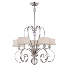 <strong>Quoizel</strong> Uptown Madison Manor 5 Light Chandelier