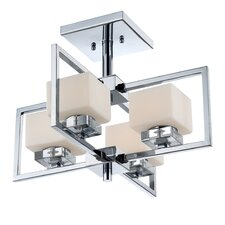Wain 4 Light Semi-Flush Mount