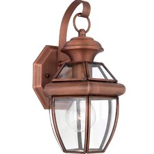 Newbury 1 Light Outdoor Wall Lantern (Set of 6)