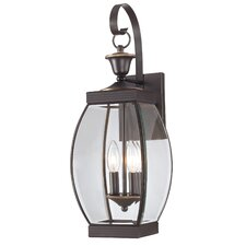 Oasis 2 Light Outdoor Wall Lantern