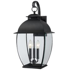 Bain 3 Light Outdoor Wall Lantern