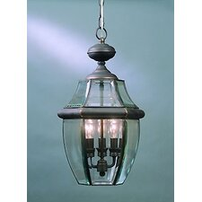 Newbury 3 Light Outdoor Hanging Lantern