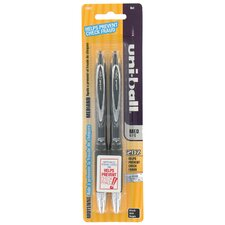 0.7mm Medium 207 Gel Pen in Black (Set of 2)