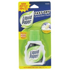 0.74 oz. White Liquid Correction Fluid in White