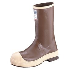 "Neoprene Steel Toe Boots - 12"" brown neop  st  neogrip"