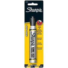 Sharpie - Sharpie King Size Permanent Markers Sharpie King Size Blackmarker: 586-15101Pp - sharpie king size blackmarker
