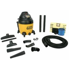 12 Gallon Switch Reluctance Technology Wet / Dry Vacuum