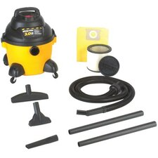 6 Gallon 3 HP Industrial Wet/Dry Vacuum