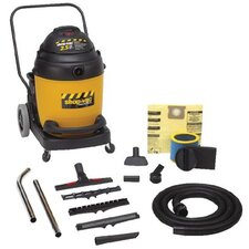 22 Gallon 2.5 HP Industrial Flip N' Pour Series Wet / Dry Vacuum