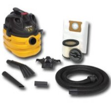 5 Gallon 3.5 Hp Portable Heavy Duty Wet/Dry Vacuum