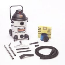 Stainless Steel 16 Gallon Shop Vac Professional Wet / Dry Vacuum