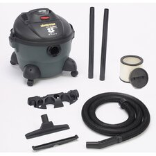 8 Gallon Quiet Deluxe Wet/Dry Vacuum 586-08