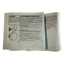 3 Pack 16 To 22 Gallon Disposable Filter Bags 906-63-19