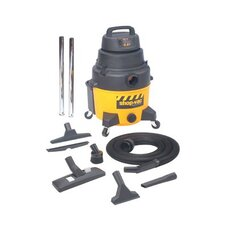 Industrial Super Quiet Wet/Dry Vacuums - 8-gallon poly ind. superquiet gp w/dry va