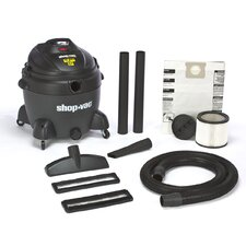 16 Gallon 6.5 Peak HP QSP Quiet Deluxe Wet / Dry Vacuum