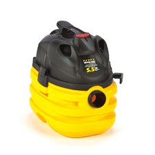 5 Gallon 5.5 Peak HP Portable Right Stuff Wet / Dry Vacuum