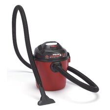 Bulldog 4Gal 2.0Hp W/D Red Utility Vac