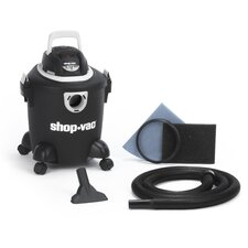 Quiet Series 5 Gallon Wet Dry Vacuum Cleaner