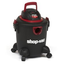 Quiet Series 5 Gallon 2.25 Peak HP Wet / Dry Vacuum