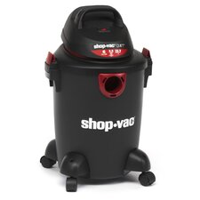 Quiet Series 6 Gallon 2.5 Peak HP Wet / Dry Vacuum