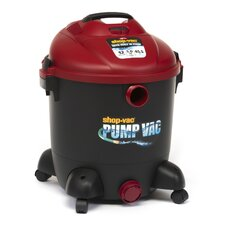 Wet Dry Vacuum with Built in Pump 12 Gallon 5.0 Peak HP