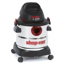 <strong>Shop-Vac</strong> Stainless Steel  Series 5 Gallon 4.5 Peak HP Wet Dry Vac