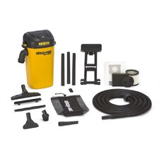5 Gallon 4.5 HP Wet / Dry Vacuum Kit