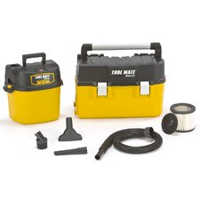 2.5 Gal 2.5 HP Wet and Dry Vacuum with Removable Toolbox Kit