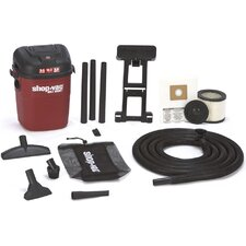 3.5 Gallon 3 HP Wet / Dry Vacuum