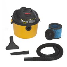 2.5 Gallon 2.0 Peak HP Right Stuff Wet / Dry Vacuum