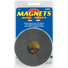 "<strong>Master Magnetics</strong> 1"" X 10' Large Magnetic Tape Roll 07019"