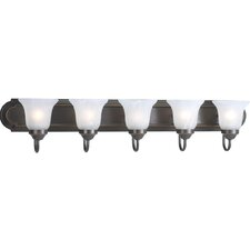Builder Bath 5 Light Vanity Light