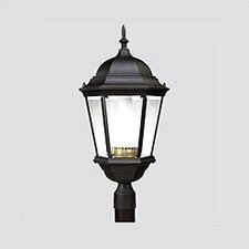 Welbourne 1 Light Glass Post Lantern
