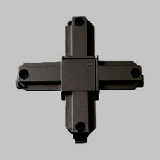 Alpha Trak Cross Connector in Black