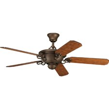 "58"" Thomasville Meeting Street 5 Blade Ceiling Fan with Remote"