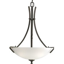 <strong>Progress Lighting</strong> Westin  Inverted Pendant in Antique Bronze - Energy Star