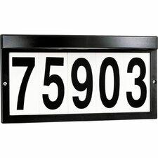 5W Incandescent Light Address Plaque
