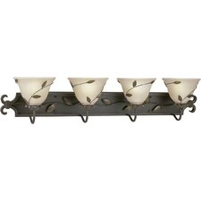 <strong>Progress Lighting</strong> Eden 4 Light Wall Vanity Light